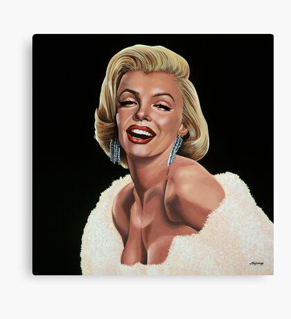 Marilyn Monroe Painting Canvas Print