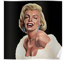 Marilyn Monroe Painting Poster