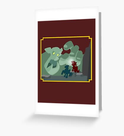 Ogres and Oubliettes - NO text Greeting Card