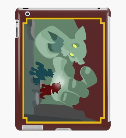 Ogres and Oubliettes - NO text iPad Case/Skin