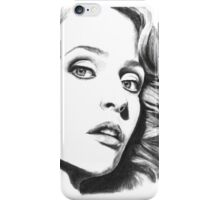 Gillian Anderson- Fault photoshoot iPhone Case/Skin