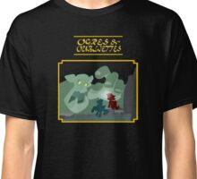 Ogres and Oubliettes - gold text Classic T-Shirt