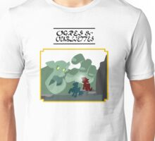 Ogres and Oubliettes - black text Unisex T-Shirt