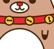 Cute Christmas Reindeer Pupsheen Sticker
