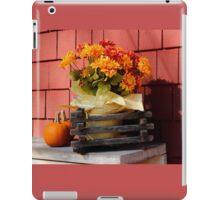 Autumn Flower Bench  iPad Case/Skin