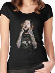 scrim Women's Fitted Scoop T-Shirt