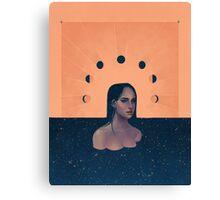 Solar|Lunar - Night Canvas Print