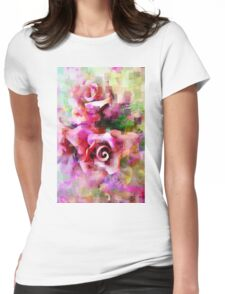 A Rose is A Rose - #giftoriginal, #redbubble Womens Fitted T-Shirt
