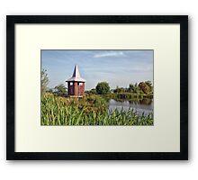Lower Bruckland Nature Reserve Framed Print