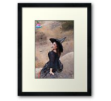 Stella the Witch Framed Print