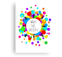 Walk the Moon Bubble Canvas Print