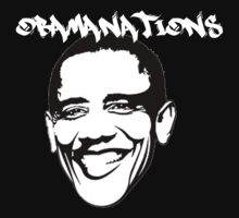 Obamanations Shirt by Mac Poole
