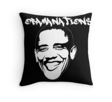 Obamanations Shirt Throw Pillow