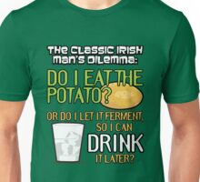 Irish Man's Dilemma (ARHCER) Unisex T-Shirt