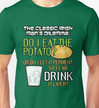 Irish Man's Dilemma (ARHCER) Unisex T-Shirt