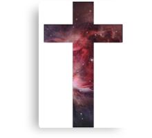 Galaxy Cross Canvas Print
