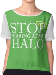 Stop staring at my halo! (FRISKY DINGO) Chiffon Top