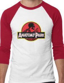 anatomy park Men's Baseball ¾ T-Shirt