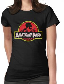 anatomy park Womens Fitted T-Shirt