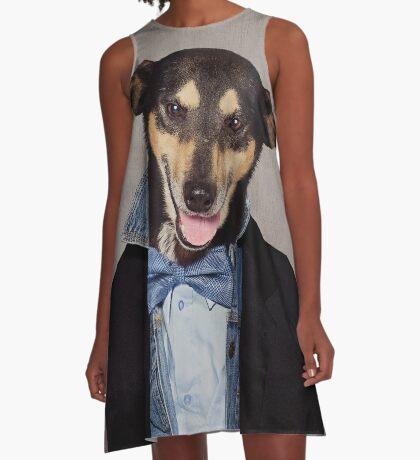 Shelter Pets Project - Fonzie A-Line Dress