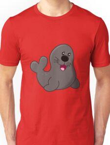 A funny cartoon seal art Unisex T-Shirt