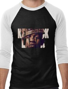 "Kendrick Lamar ""King"" Design Men's Baseball ¾ T-Shirt"