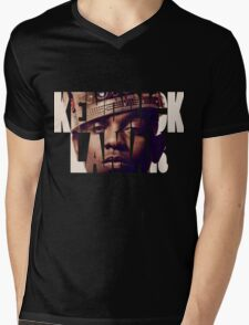 "Kendrick Lamar ""King"" Design Mens V-Neck T-Shirt"