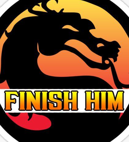 Mortal Kombat: Finish Him! Sticker
