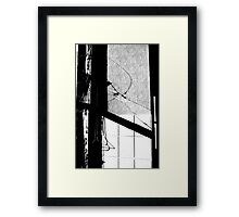 mill window Framed Print