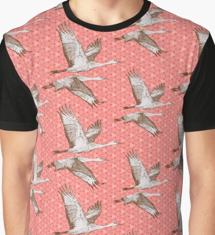 Sandhill Crane Migration Graphic T-Shirt