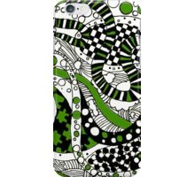 Zendoodle Orb- Green iPhone Case/Skin