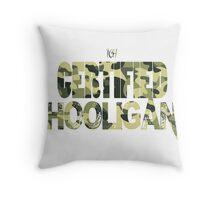 Certified Hooligan(TCH CLOTHING) Throw Pillow