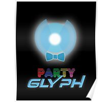 Party Glyph Poster