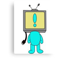 MIke TV Canvas Print