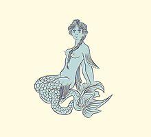 Mermaid by valentinaromero