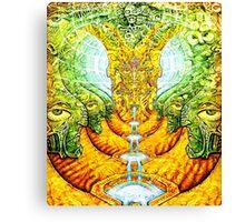 Mifsudvisions vs SalviaDroid Collab Canvas Print