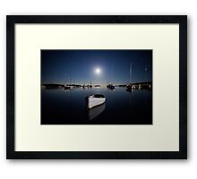 Ghost Boat - By J Wells Photography Framed Print