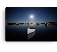 Ghost Boat - By J Wells Photography Canvas Print