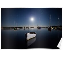 Ghost Boat - By J Wells Photography Poster