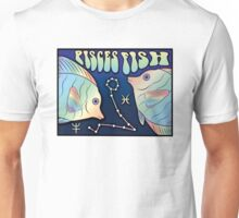 Zodiac Astrology Sign - Pisces Unisex T-Shirt