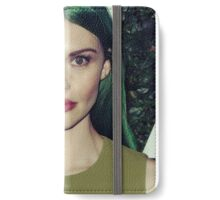 green prim iPhone Wallet/Case/Skin