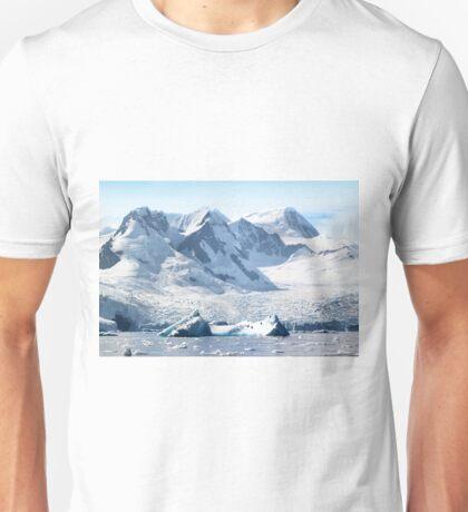 Cierva Cove with Glaciers & Iceberg Unisex T-Shirt