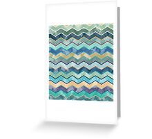 Watercolor Wave  Greeting Card