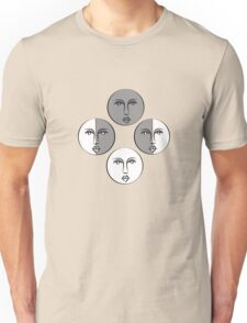 Phases of the moon version 3 Unisex T-Shirt