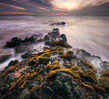 Cloudy Sunset, Maui by Michael Treloar