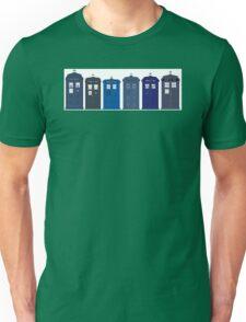 Tardis boxes police call box Unisex T-Shirt