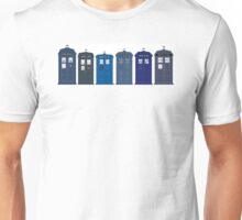 Tardis boxes police call box Unisex T-Shirt