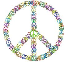 Peace sign of Peace Signs by TinaGraphics