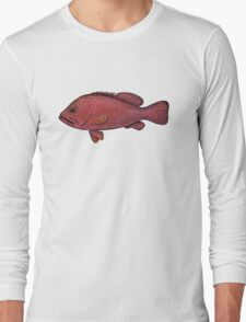 Red Sea Coral Grouper Long Sleeve T-Shirt