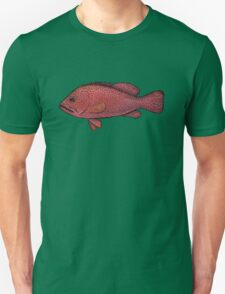 Red Sea Coral Grouper Unisex T-Shirt